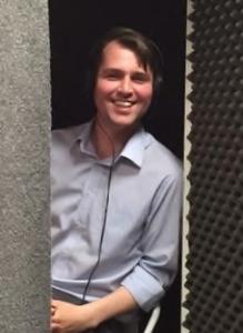 Angus in Studio